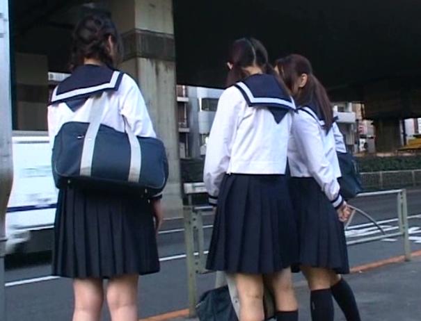 【※JKレイプ※】毎朝通勤中に見かけるJK達を強姦魔に襲わせる!逃げ場の無いJKに無理やり挿入強姦…!