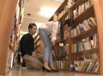 図書館で働くピタパン司書を襲い強引に中出しレイプ…!