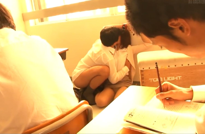 教育実習生に連続中出しレイプ!教室やトイレで男子や教師に襲われ集団中出し口内射精の餌食に…!二宮沙樹