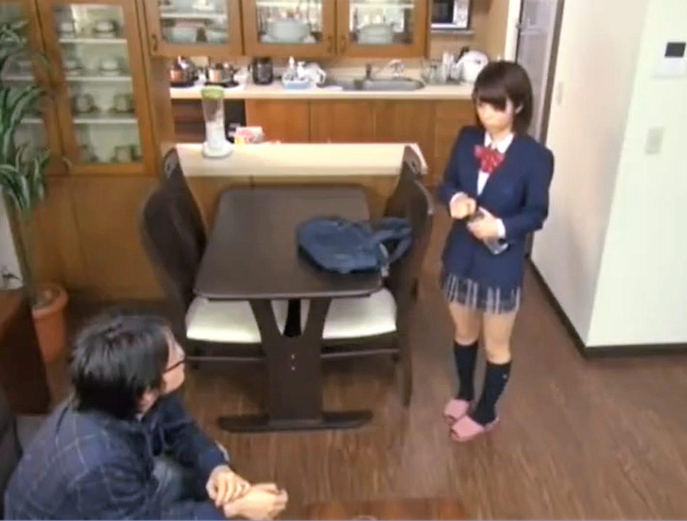 【※JKレイプ※】兄の娘の着替えを覗き襲う!アイドル級の見た目に性欲暴走し犯し尽す…!さくらあき