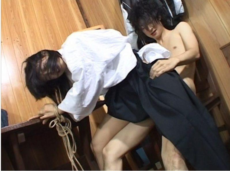 【※部活レイプ※】弓道部JKを道着のまま弓道場で拘束着衣生ハメで犯し尽す…!