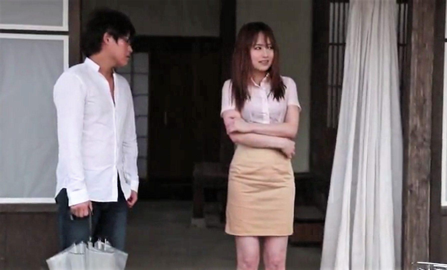 【※吉沢明歩※】雨に濡れ透けた女の姿に理性崩壊レイプ!抵抗しても力尽くで犯し尽す…!