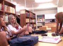 【※ギャルレイプ※】図書館で騒ぐギャルJK達を悪ガキ達が襲う!集団で犯し始めヤリ逃げ…!