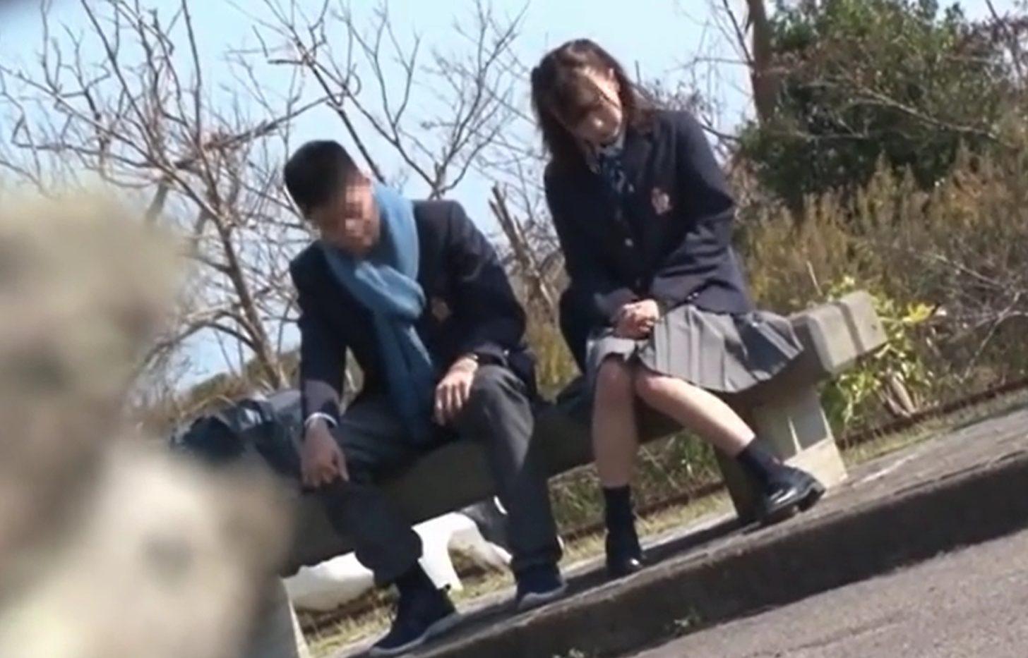 【※JKレイプ※】美少女JKを公園のトイレで犯し尽す!デート終わりのJKを狙い帰り際に襲い掛かり生ハメ…!