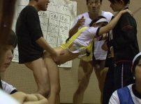 【※JKレイプ※】女子高の球技大会に強姦魔が侵入!周りにJK達がいる中無理やり生ハメで犯し尽す…!