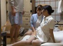 【※レイプ※】射精依存症の治療中に暴走した患者がナース達を犯し尽す…!