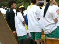運動会中の女子生徒を物陰に連れ込み無理やり挿入野外レイプ…!